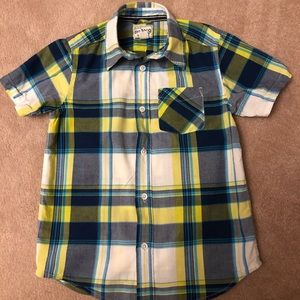 Boys Children's Place Short Sleeved Button Down